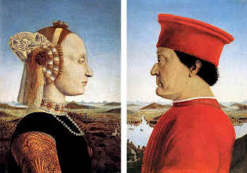 The Duchess and Duke of Urbino